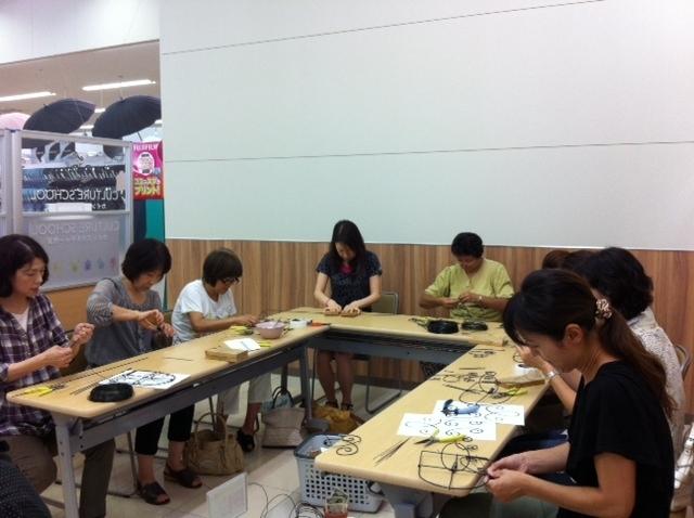 ワイヤークラフト教室